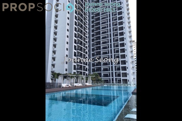 For Rent Condominium at D'Latour, Bandar Sunway Leasehold Fully Furnished 3R/2B 1.25k