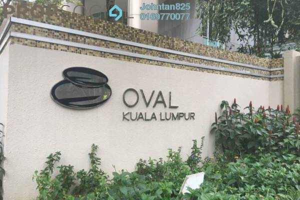For Sale Condominium at The Oval, KLCC Freehold Semi Furnished 4R/5B 3.8百万