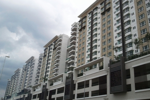 For Sale Condominium at Panorama Residences, Sentul Freehold Semi Furnished 3R/2B 600k