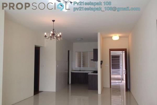 For Sale Condominium at Titiwangsa Sentral, Titiwangsa Freehold Semi Furnished 3R/2B 650k