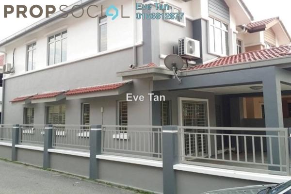 For Sale Terrace at Setia Impian, Setia Alam Freehold Semi Furnished 4R/3B 800k