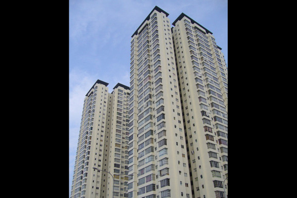 For Rent Condominium at The Tamarind, Sentul Freehold Semi Furnished 3R/2B 2k