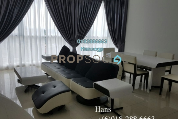 For Rent Condominium at Uptown Residences, Damansara Utama Freehold Fully Furnished 2R/3B 4.4k