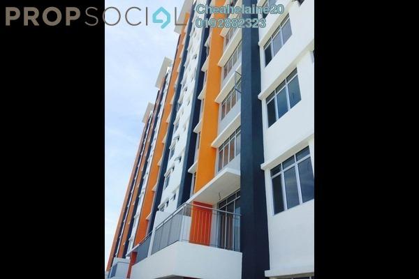 For Rent Condominium at 228 Selayang Condominium, Selayang Leasehold Semi Furnished 3R/2B 1.2k