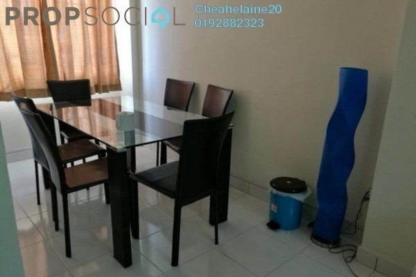 For Sale Apartment at Radius Residence, Selayang Heights Leasehold Semi Furnished 3R/2B 370k