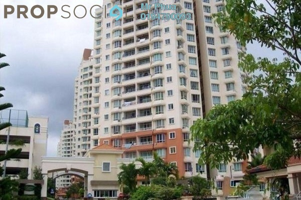 For Sale Apartment at Regency Heights, Sungai Ara Freehold Semi Furnished 3R/2B 640k
