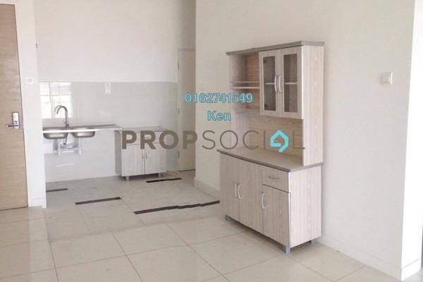 For Rent Condominium at Skypod, Bandar Puchong Jaya Freehold Semi Furnished 2R/2B 1.6k