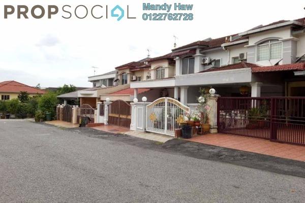 For Sale Terrace at Taman Kajang Prima, Kajang Freehold Semi Furnished 4R/3B 555k
