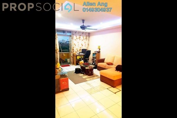 For Sale Condominium at Bukit OUG Townhouse, Bukit Jalil Freehold Semi Furnished 3R/2B 399k