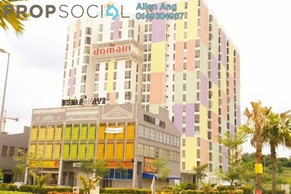 For Sale Condominium at The Domain, Cyberjaya Freehold Semi Furnished 3R/2B 300k