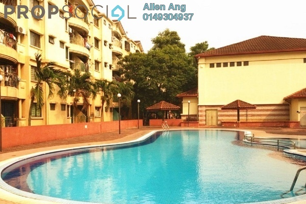 For Rent Apartment at Ilham Apartment, TTDI Jaya Leasehold Semi Furnished 3R/2B 1k