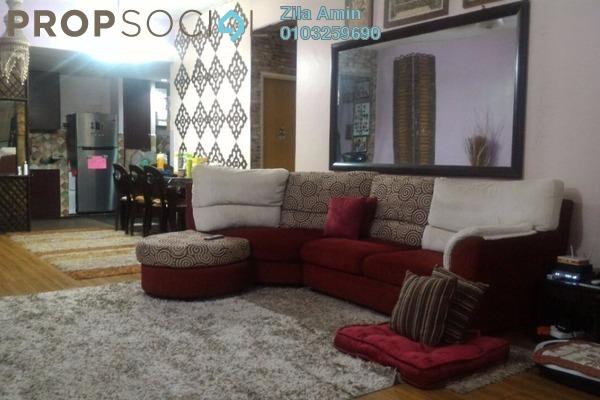 For Sale Apartment at Taman Puchong Intan, Puchong Leasehold Semi Furnished 3R/2B 280k