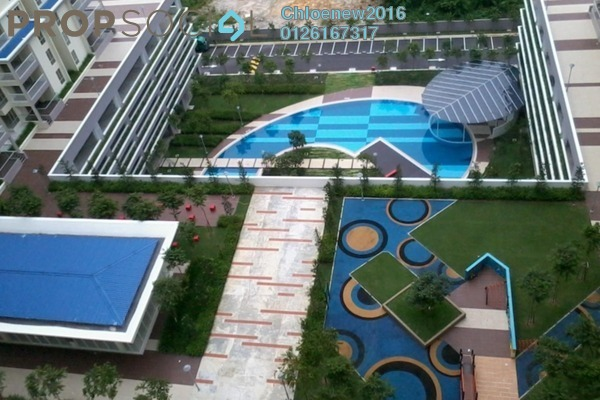 For Rent Condominium at Platinum Lake PV20, Setapak Leasehold Fully Furnished 4R/2B 1.8k
