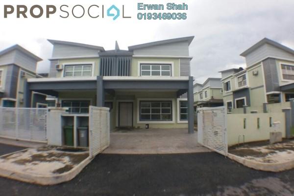 For Sale Semi-Detached at Bandar Warisan Puteri, Seremban Freehold Unfurnished 4R/3B 500k
