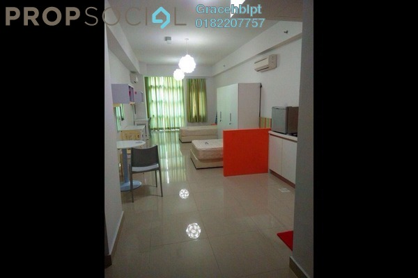 For Rent SoHo/Studio at First Subang, Subang Jaya Freehold Fully Furnished 0R/1B 1.4k