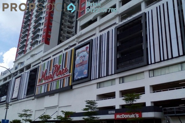 For Rent Serviced Residence at Main Place Residence, UEP Subang Jaya Freehold Fully Furnished 2R/1B 1.6k