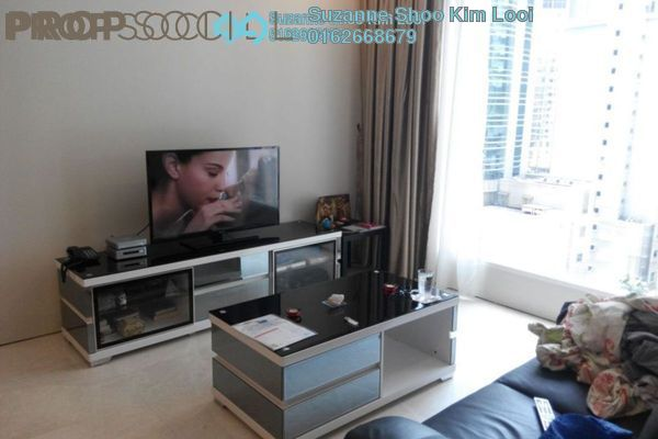 For Sale Condominium at Soho Suites, KLCC Freehold Fully Furnished 1R/1B 910k