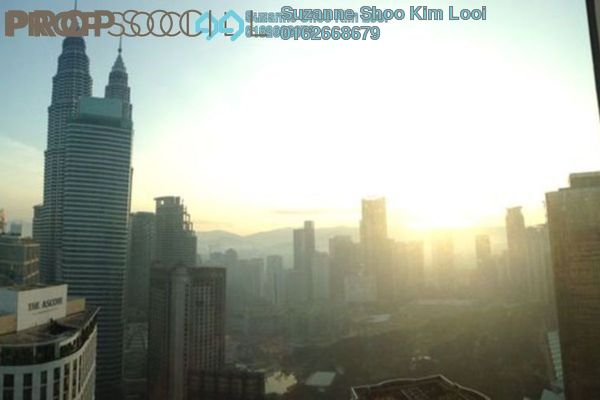For Sale Serviced Residence at Soho Suites, KLCC Freehold Fully Furnished 2R/2B 1.05m