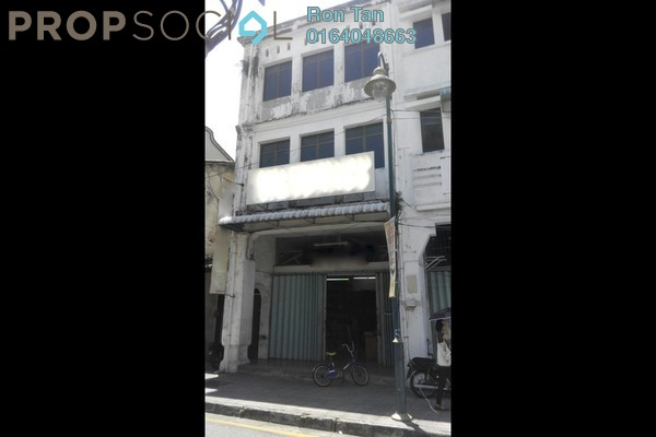 For Sale Shop at Lebuh Armenian, Georgetown Freehold Unfurnished 0R/2B 5.5m