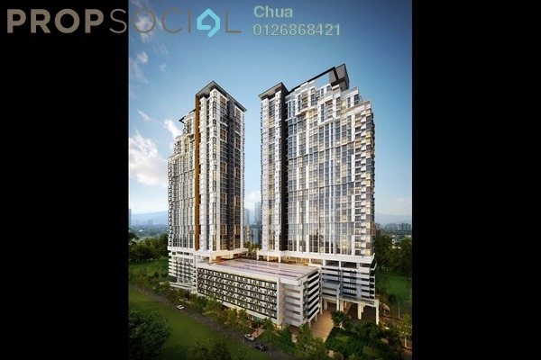 For Rent Condominium at Shamelin Star Serviced Residences, Cheras Leasehold Semi Furnished 2R/2B 1.6k