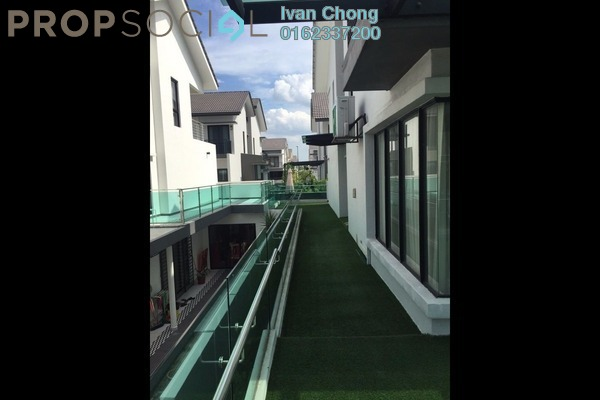 For Sale Terrace at Lake Fields, Sungai Besi Leasehold Fully Furnished 5R/4B 1.88m