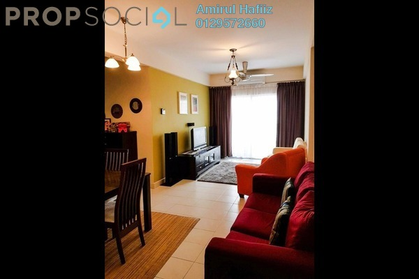 For Sale Apartment at Saujana Gombak Apartment, Batu Caves Leasehold Semi Furnished 3R/2B 329k