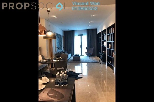 For Sale Serviced Residence at DC Residency, Damansara Heights Freehold Semi Furnished 3R/2B 2.6m