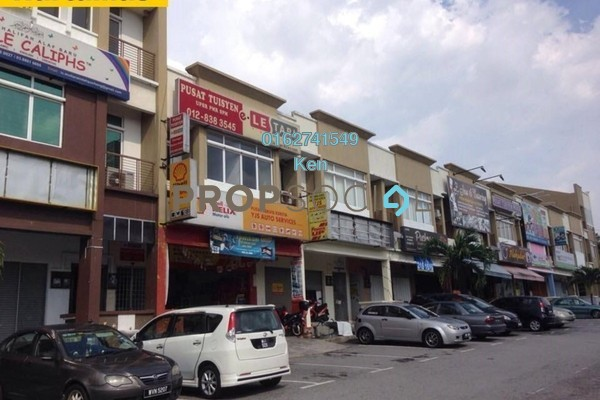 For Sale Shop at Mutiara Indah, Puchong Leasehold Semi Furnished 0R/0B 1.3m
