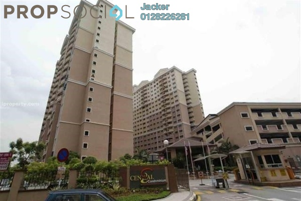 For Rent Condominium at Cengal Condominium, Bandar Sri Permaisuri Leasehold Semi Furnished 3R/2B 1.35k