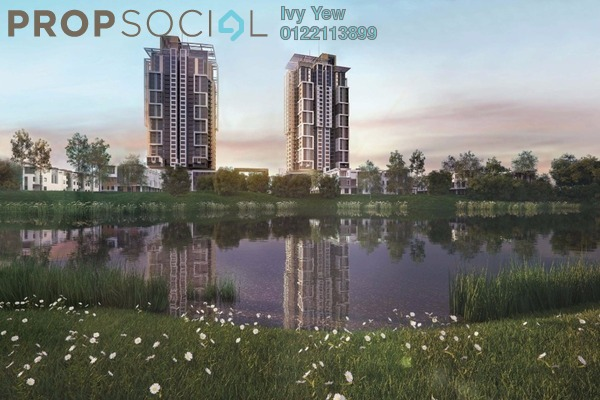 For Sale Condominium at Lake Point Residence, Cyberjaya Freehold Unfurnished 3R/2B 450k