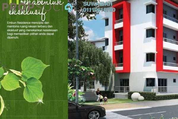 For Sale Condominium at Embun Residence @ Taman Puncak Saujana, Kajang Freehold Unfurnished 3R/2B 360k