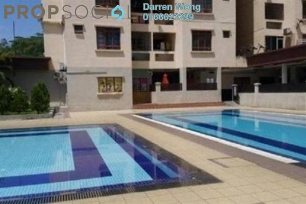 For Rent Apartment at Permai Puteri, Ampang Leasehold Unfurnished 3R/2B 1.2k