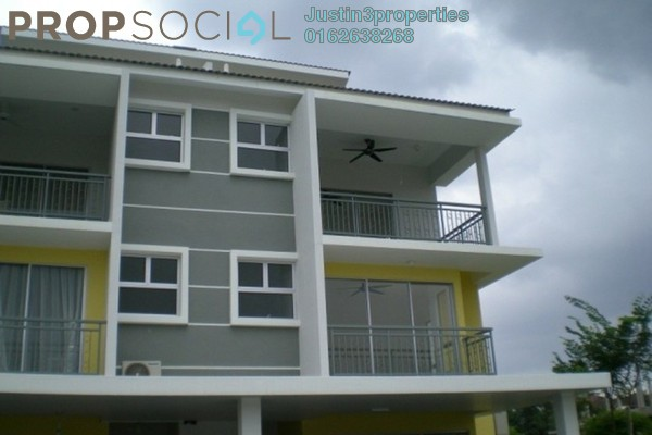 For Sale Terrace at New Green Park, Rawang Freehold Unfurnished 4R/3B 529k