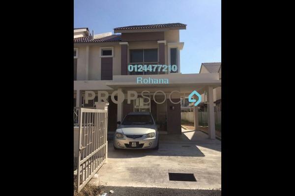 For Sale Semi-Detached at Bandar Puncak Alam, Kuala Selangor Leasehold Unfurnished 4R/3B 455k