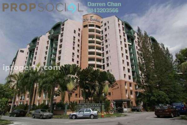 For Rent Apartment at City Garden Palm Villa, Pandan Indah Leasehold Semi Furnished 3R/2B 1.7k