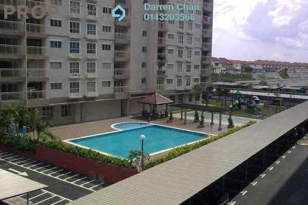 For Rent Apartment at Cahaya Permai, Bandar Putra Permai Leasehold Unfurnished 3R/2B 1k
