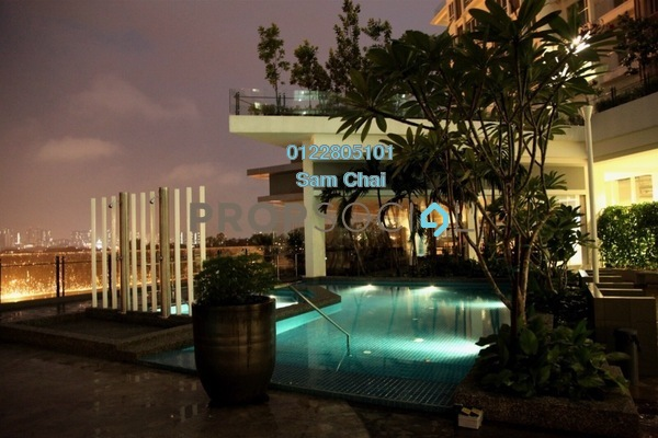 For Sale Serviced Residence at Desa Green Serviced Apartment, Taman Desa Freehold Unfurnished 1R/1B 435k
