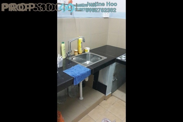 For Rent Apartment at Villamas Apartment, Bandar Puchong Jaya Freehold Semi Furnished 3R/2B 1.1k