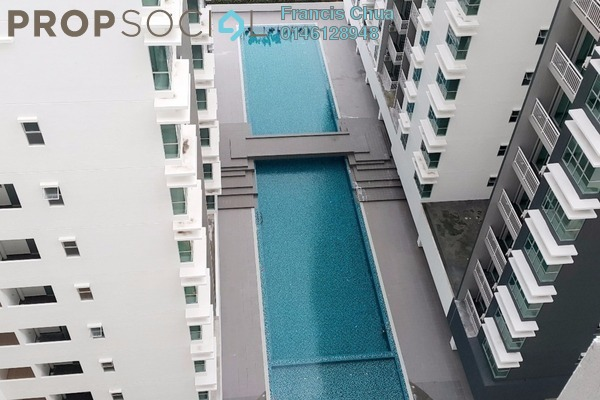 For Rent Apartment at The Aliff Residences, Johor Bahru Leasehold Fully Furnished 3R/2B 1.8k