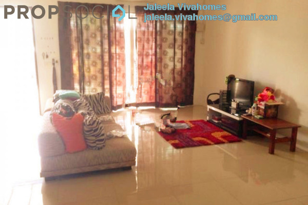 For Rent Terrace at Ken Rimba, Shah Alam Freehold Semi Furnished 4R/2B 1.9k
