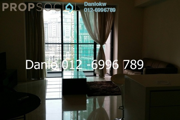 For Rent Condominium at myHabitat, KLCC Freehold Fully Furnished 1R/1B 4k