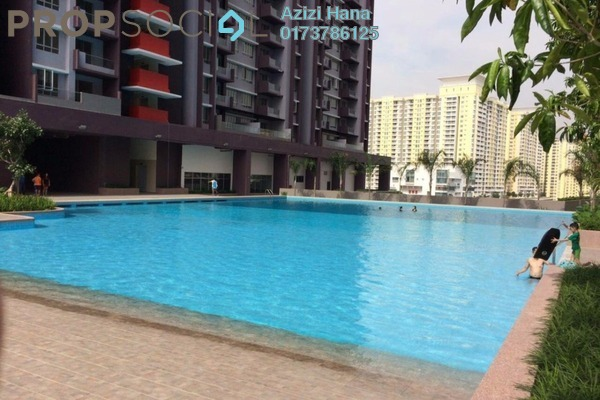 For Rent Condominium at Platinum Lake PV21, Setapak Freehold Unfurnished 3R/2B 1.5k