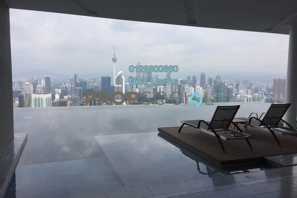 For Sale Serviced Residence at The Sentral Residences, KL Sentral Freehold Semi Furnished 3R/3B 2.8m