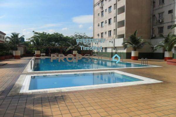For Rent Condominium at Kenanga Point, Pudu Freehold Semi Furnished 4R/2B 2.1k