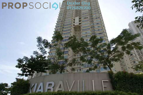 For Rent Condominium at Kiaraville, Mont Kiara Freehold Fully Furnished 2R/2B 3.5k