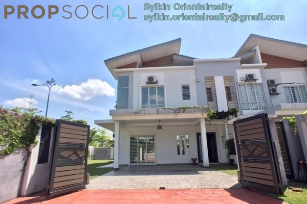 For Sale Terrace at D'Kayangan, Shah Alam Leasehold Semi Furnished 6R/4B 1.6m