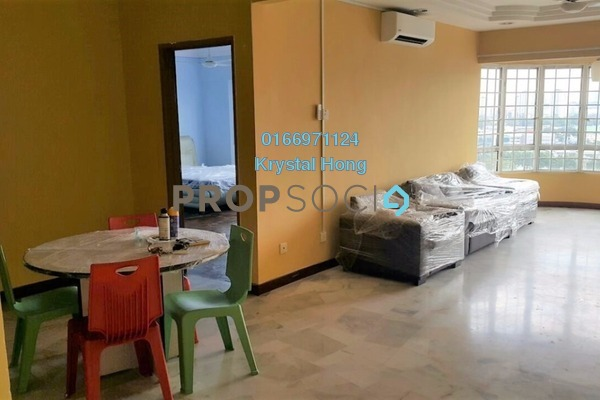 For Rent Condominium at Sri Intan 2, Jalan Ipoh Freehold Semi Furnished 3R/2B 1.65k