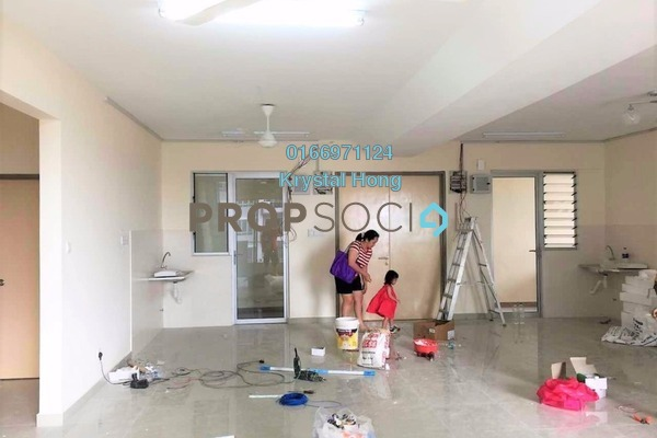 For Rent Condominium at Platinum Lake PV21, Setapak Freehold Unfurnished 4R/3B 2.5k