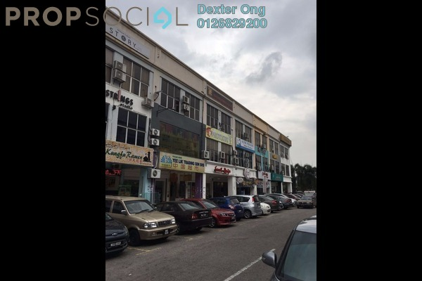 For Rent Shop at Taman Connaught, Cheras Leasehold Semi Furnished 0R/0B 6k
