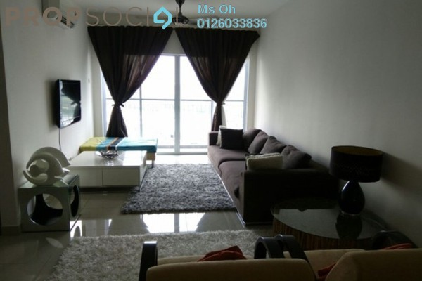 For Rent Condominium at Koi Prima, Puchong Leasehold Fully Furnished 3R/2B 1.5k